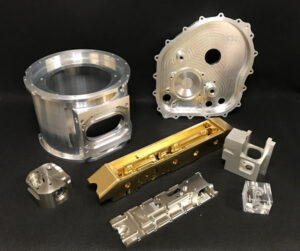 CNC Milled Components 1