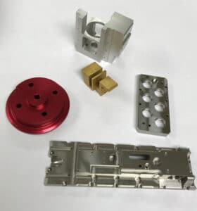 CNC Milled Components 2